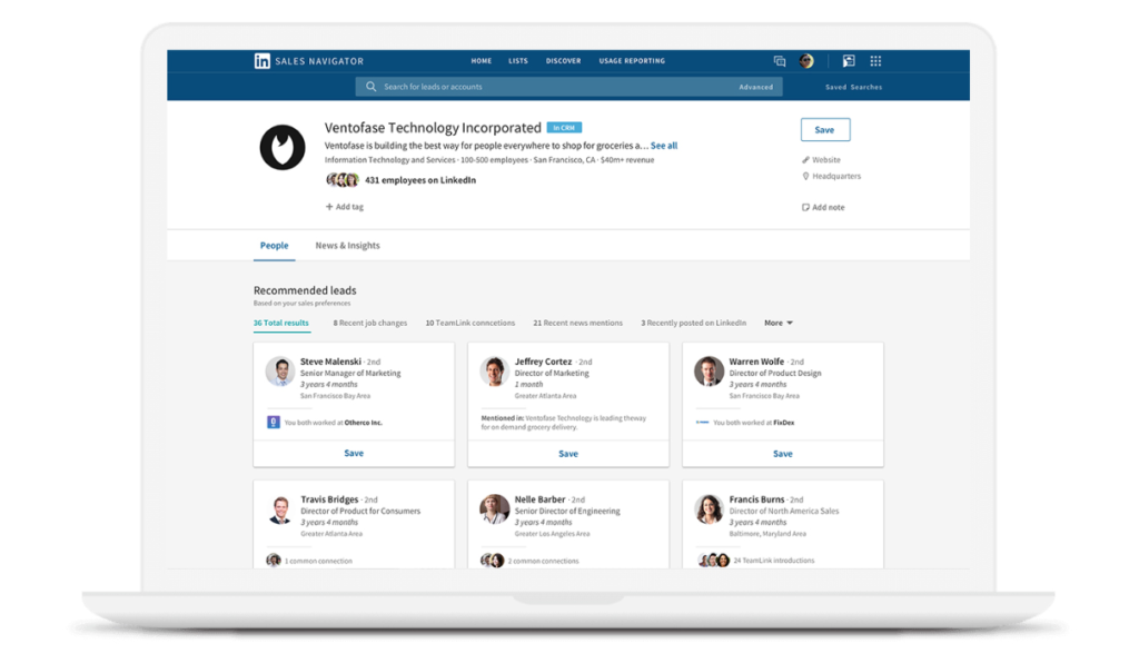 how to use LinkedIn Sales Navigator