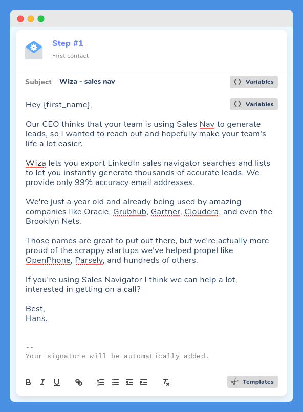 cold email tips 13